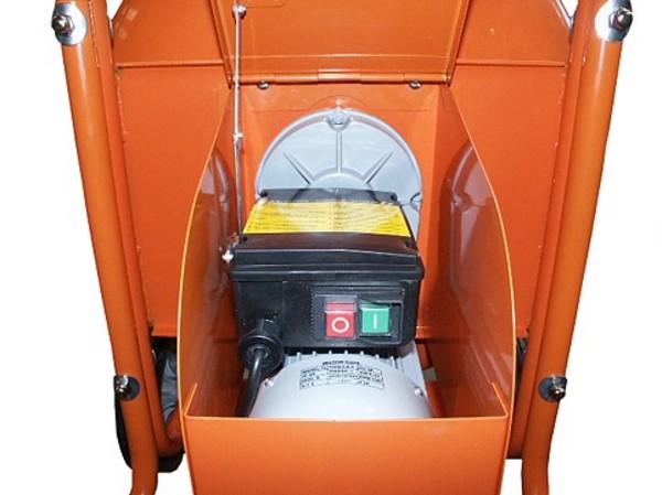 Cement mixer electric controls