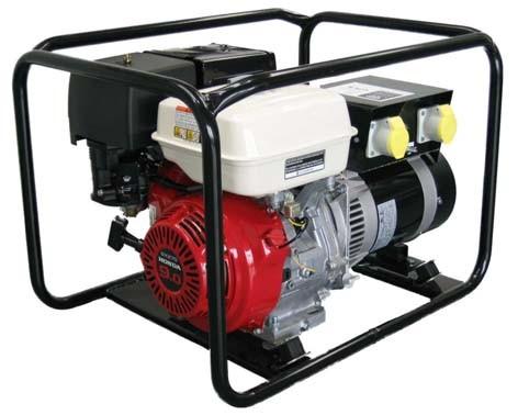 5.0 KVA / 4.0KW Petrol Generator   Honda GX270 Engine