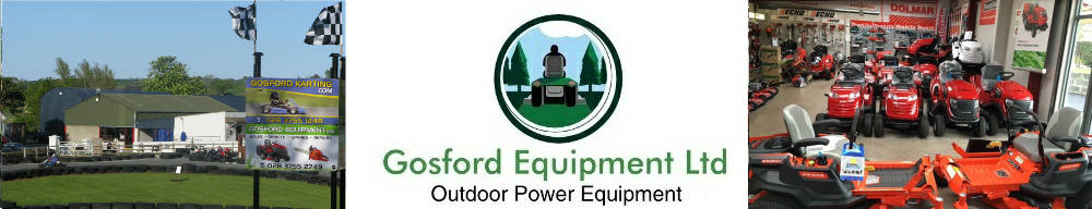 Gosford Equipment Ltd - Lawnmower sales Armagh Northern Ireland, site logo.