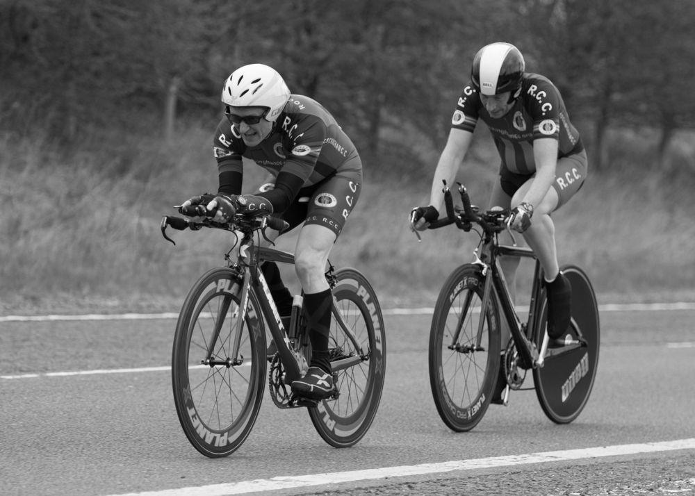 Ant McNamara & Andy Whitehead, Ravensthorpe 2-Up T.T.