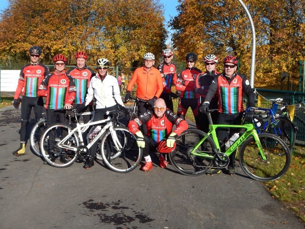 Club Run to Doncaster Cycle Track