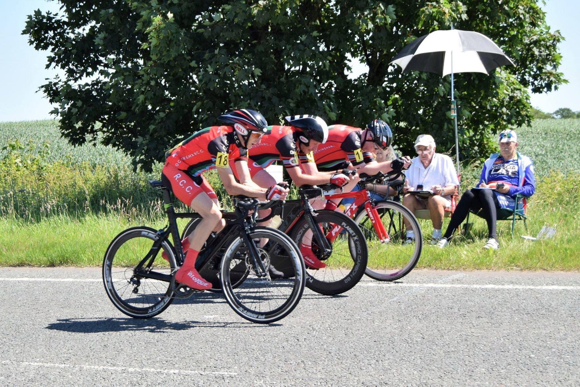 Martin Broadhead, Andy Whitehead, Ian Ambler, National 25m 3-Up T.T.T.
