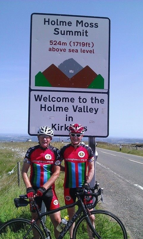 Dave & Ant on Holme Moss