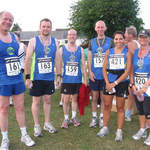 lancing eagles at the round hill romp