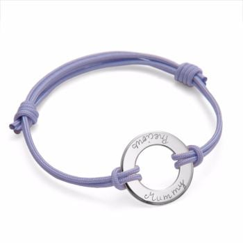 Sterling Silver Charm Bracelet for a Precious Mummy
