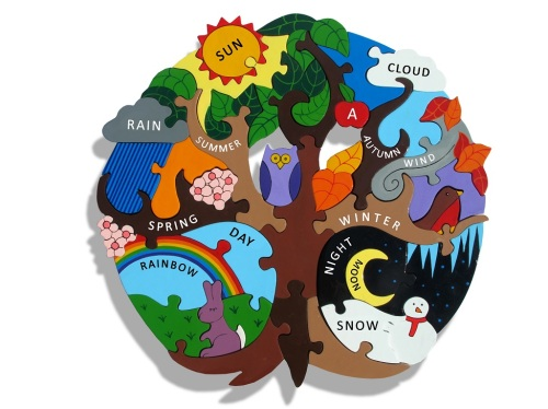 Wooden Jigsaw - The Seasons