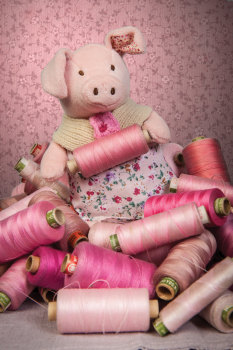 Primrose Pig from Ragtales