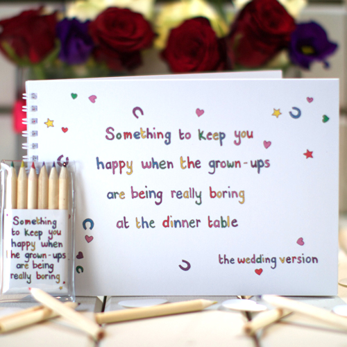 Something to keep you happy ......... the wedding version