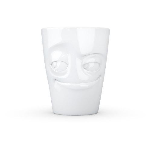 White Porcelain 'Impish' Mug