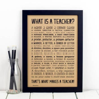 What is  a Teacher?
