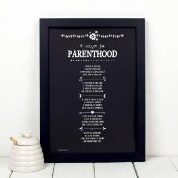 A Recipe for Parenthood