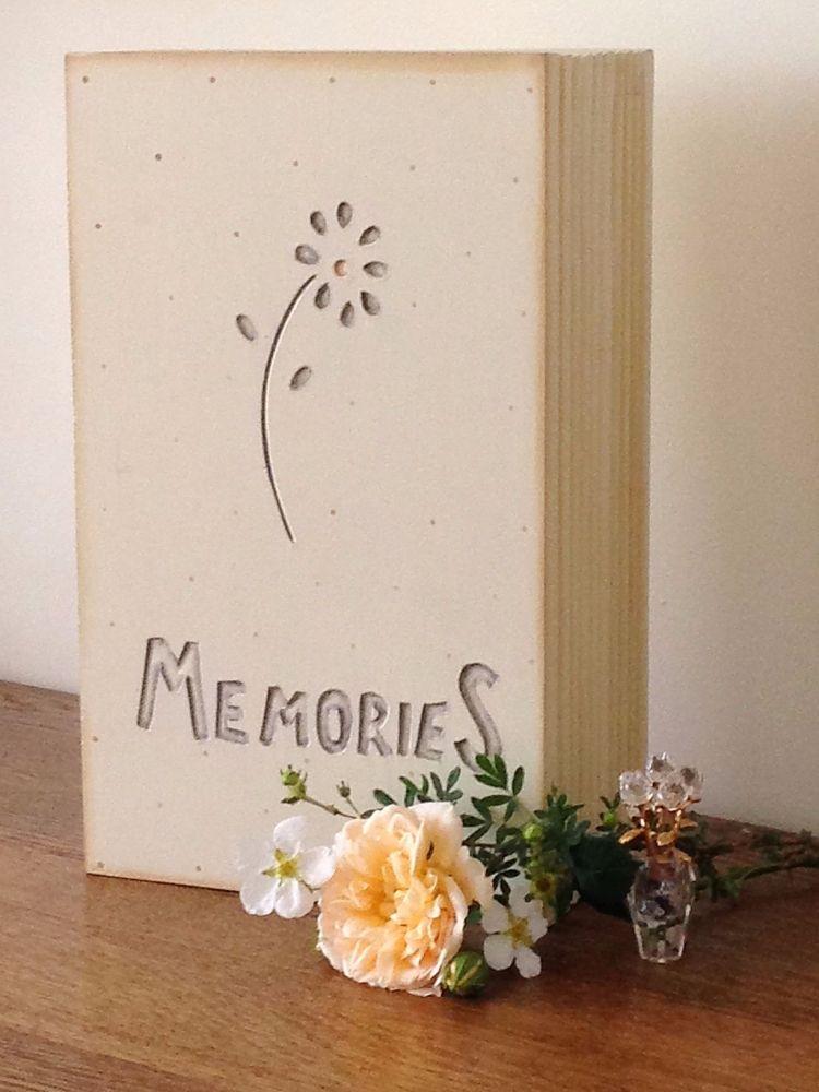 Wooden Memories Box