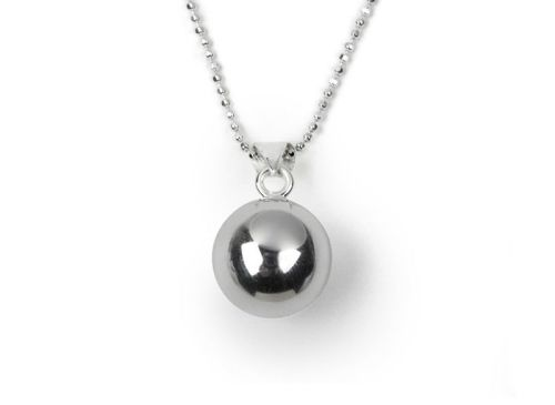 Tales from the Earth - Silver Chiming Girl's Necklace