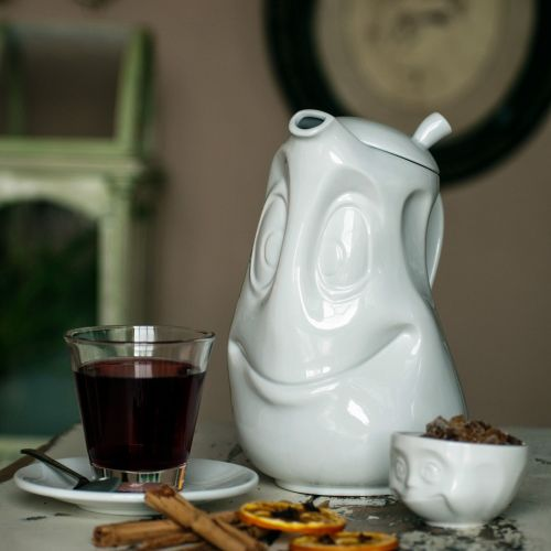 White Porcelain Tea Pot