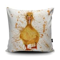 Splatter Duck Cushion from Wraptious