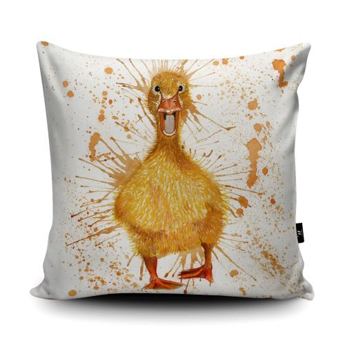 Splatter Duck Cushion