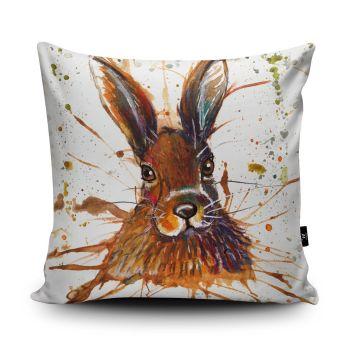 Splatter Hare Cushion