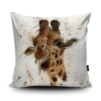 Splatter Giraffe Cushion from Wraptious