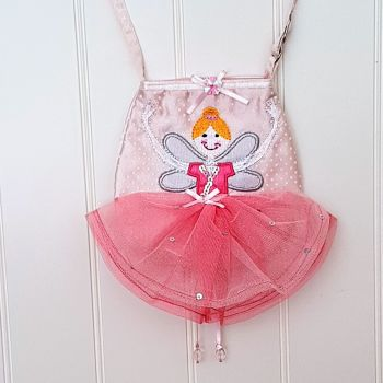 Fairy Ballerina Satin Shoulder Bag