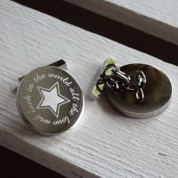 All the Love and Luck in the World - Cufflinks from Tales from the Earth