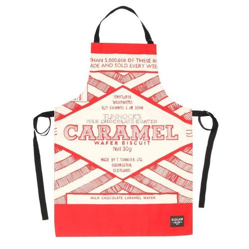 Tunnocks Caramel Wafer Wrapper Cook's Apron