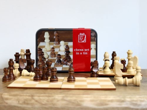 Gift in a Tin - Chess Set