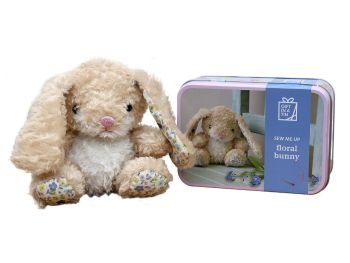 Gift in a Tin - Floral Bunny
