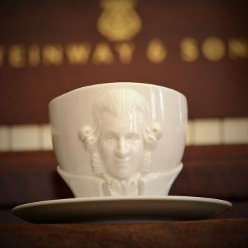 Wolfgang Amadeus Mozart Cup and Saucer