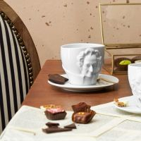 Goethe having Tea