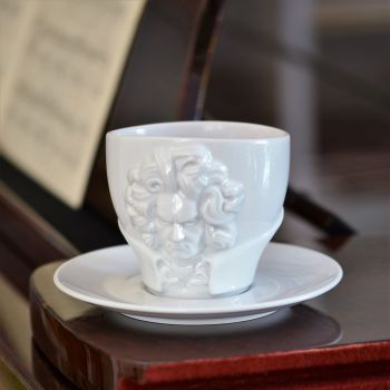Ludwig van Beethoven Cup and Saucer