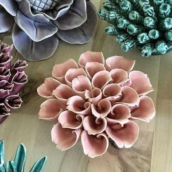 Ceramic Flower Pink