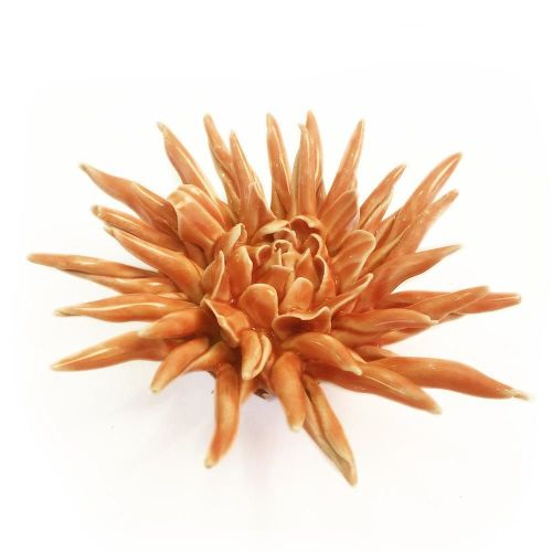 Ceramic Flower Orange