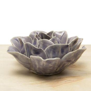 Ceramic Lotus Lilac