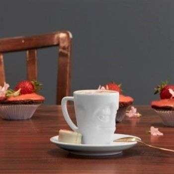 Espresso Mug and Saucer - Impish
