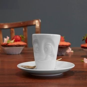 Espresso Mug and Saucer - Tasty