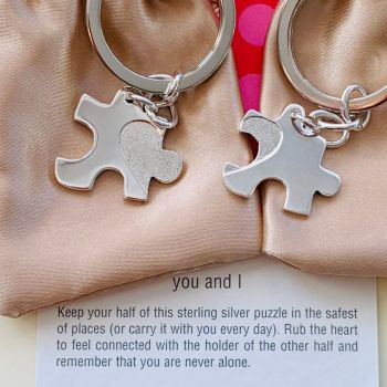 Jigsaw Puzzle Key Rings
