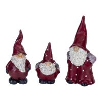 Set of 3 Swedish Gnomes, Elmer, Max & Leonard
