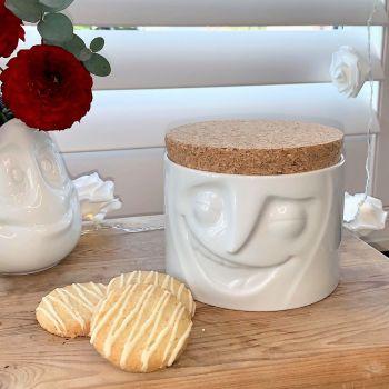 'Cheerful' Storage Jar