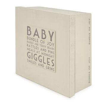Keepsake Baby Box