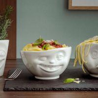White Porcelain 'Winking' Bowl 500ml