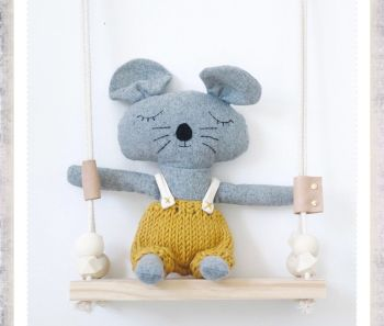 Charlie Mouse Soft Toy