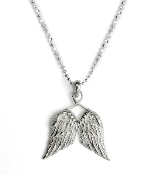 Tales from the Earth - Little Guardian Angel Wings necklace