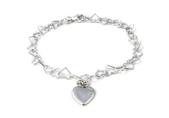 Tales from the Earth - Kid's Linked Heart Bracelet