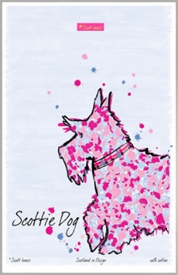 Scott Innes - Scottie Dogi Tea Towel