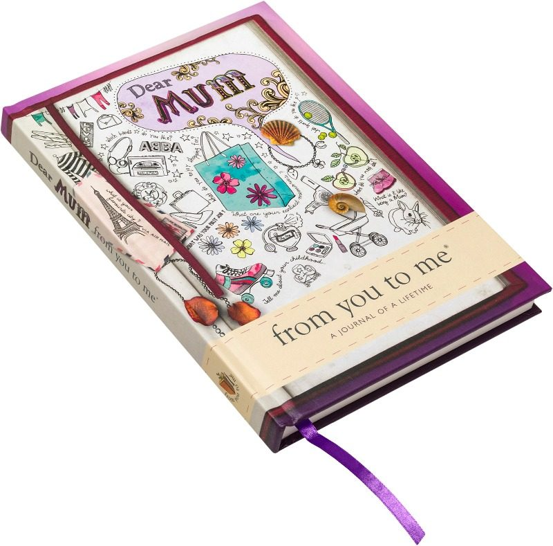 dear mum journal perfect gift mothers day sketch