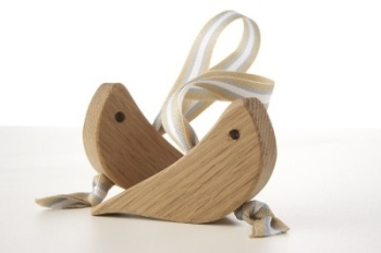 Pair of Oak Love Birds
