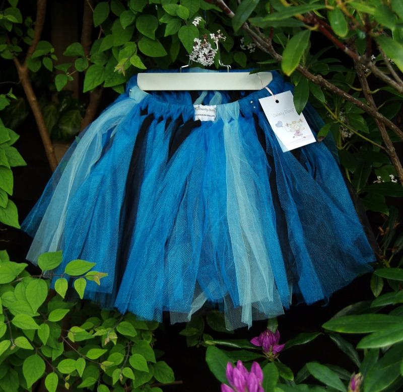lovely lane dainty dizzie tutu midnight blue
