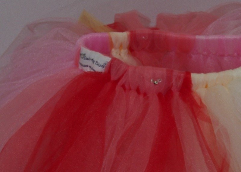 lovely lane dainty dizzy tutu pink close up