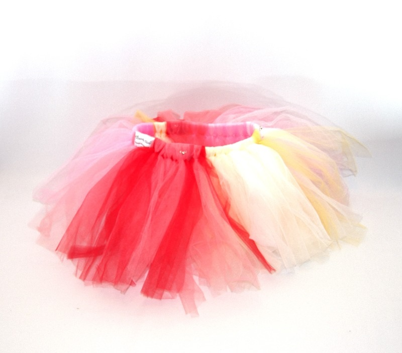 lovely lane dainty dizzy tutu cut out pink