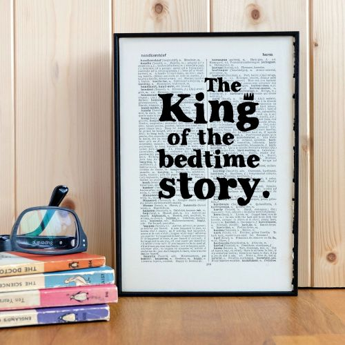Dad - The King of the Bedtime Story